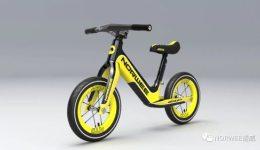"NORWEE诺威新品""ELF精灵""发布,这是一辆能走就能骑的滑步车"
