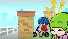 [视频]儿童平衡车骑行时注意事项卡通视频