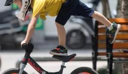 儿童平衡车教学视频之头盔/把横/把立篇